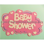 Cartel Goma Eva Nube Baby Shower / Multi F.C x1